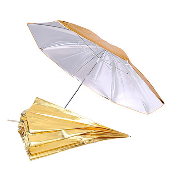 PHOTAREX Reversible Umbrella Reflector (Silver/Gold) 102cm