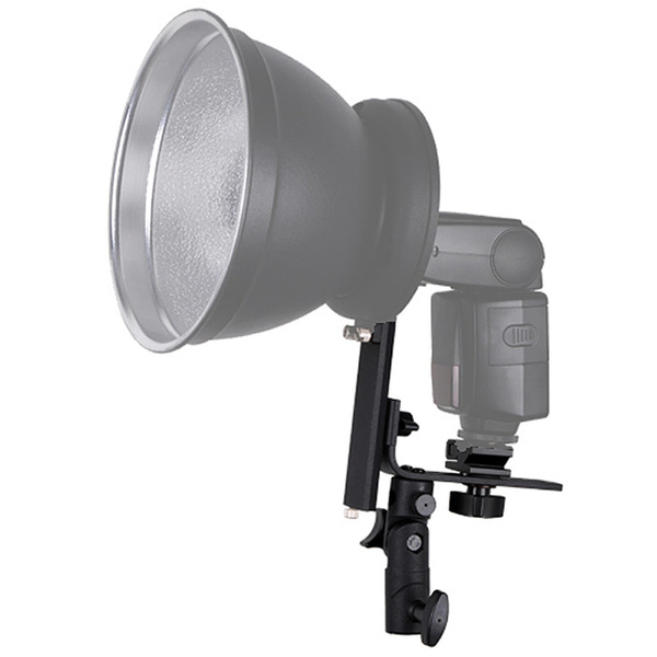 PHOTAREX 4-in-1 Reflector Adapter and Umbrella Holder for Speedlight + Light Stand