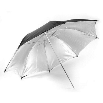 NICEFOTO Reflector Umbrella black/silver | 102cm