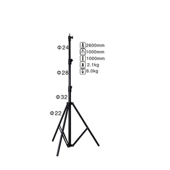 PHOTAREX Air-Cushioned Heavy-Duty Light Stand LS-260AT -...